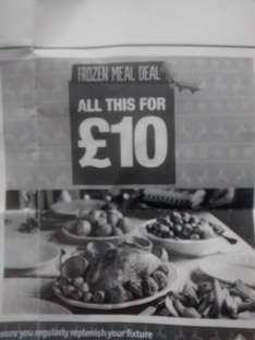 Co-op Christmas Dinner Frozen Meal Deal £10 (From 16th Dec)