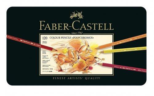 Faber-Castell Polychromos Colour Pencils Tin Of 120 £99.99 Amazon