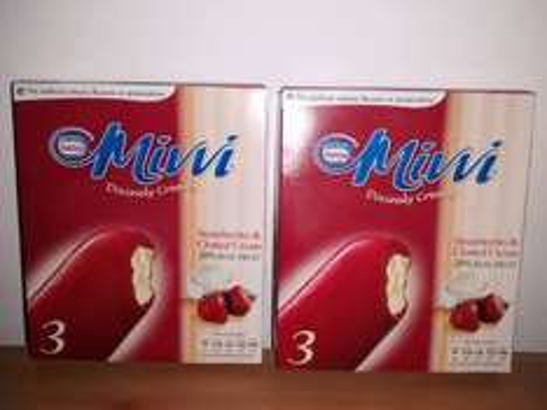 Nestle 6 x 90ml Mivvi Divinely Creamy Ice Cream (Buy One Get One Free) 1.00 @ Farmfoods
