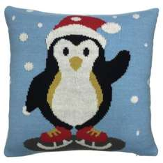 Knitted Penguin Cushion was £8 now £2 Tesco Direct (free click n collect)