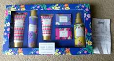 British Bloom Bath & Body Collection was £15 now £2.80 @ Tesco instore