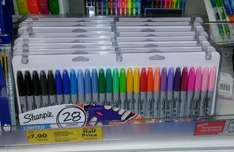 28 pack Sharpies £7 Tesco Bedworth