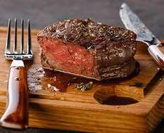 10 x 8-9oz Ribeye steaks £39 / 10 x 7-8oz 28 day matured Fillet steaks £43 delivered @ Westin Gourmet  (using code)