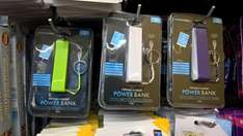 1200mAH powerbank £1.00 @ poundworld