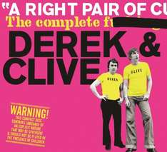 A Right Pair Of *****: The Complete ******* Derek & Clive Box set £5.32 delivered (Prime) £7.32 Delivered (Non Prime) @ Amazon