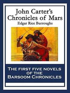 John Carter's Chronicles of Mars: the first 7 books in Kindle Edition (912 pages) for £1.19 @ Amazon