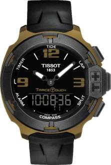 Tissot Watch T-Race Touch Aluminium S - half price at CW Sellors/Jura for £180