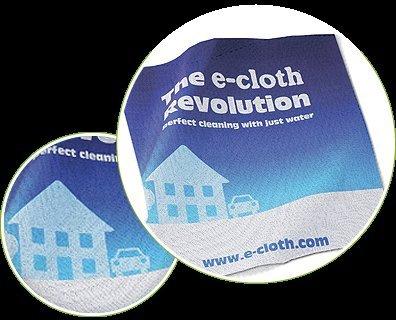 Free E-cloth sample.