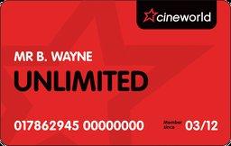 Cineworld Unlimited card £142.82 instead of £202.80 via KidsPass (Do NOT post referrals)