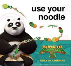 Free Kung Fu Panda 3 Activity Pack @ Wagamamas