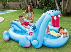 Intex Hippo Play Centre Paddling Pool £9 & in 3 for 2 @ Tesco Direct (+£2 C+C)