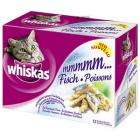 Whiskas 12x 100g pouches various varieties £1.68 from Wednesday 8th October