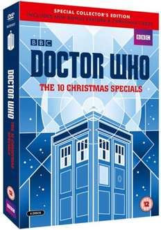 Doctor Who: The 10 Christmas Specials Limited Edition DVD Boxset £5.99 Delivered @ BBC Shop