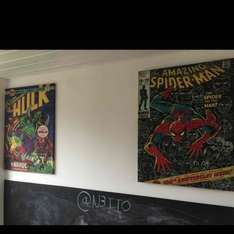 Marvel Canvas £9.99 each @ B&M Stores