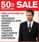 50% off sale @ Burton Menswear!! Bargains to be had...