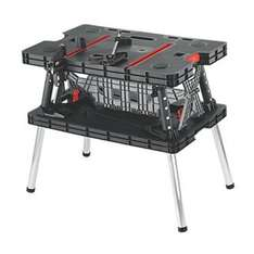 FORGE STEEL FOLDING WORKBENCH WITH 2 QUICK RELEASE CLAMPS £49.99 (c&c only) @ Screwfix