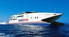 Condor Ferries - £40 off return Jersey/Guernsey trip.  Book on 25th and 26th April - Travel by 30th June @ Condor Ferries
