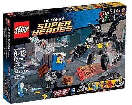 32%off LEGO Superheroes 76026: Gorilla Grodd goes Bananas £33.99 @ amazon