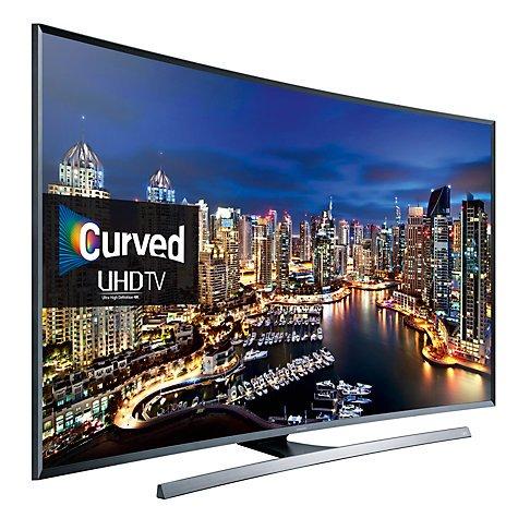 Samsung UE48JU7500, Curved LED, HDR, 4K Ultra HD, 3D, Freesat HD with 5 year guarantee - £845 @ John Lewis
