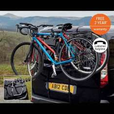 Maypole 3 Bike Cycle Carrier £29.99 at Aldi from 8th