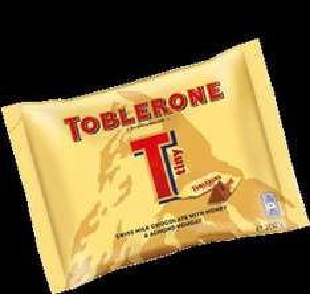 Toblerone Tiny's 200g bag £1.00 at B&M's