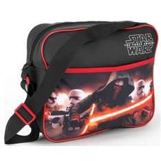 Star Wars Messenger Bag half price now £7.49 C+C @ Argos (also backpack + others in 1st post)