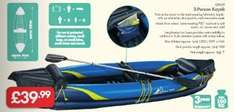 2 Person Kayak - £39.99 - LIDL (Crivit) - 3 Year Warranty - Many Possible Uses