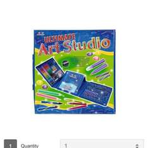 Ultimate Art Studio small wonders ultimate art studio over 200 items £8.99 @ very