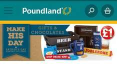 Range of Father's Day gifts £1 @ Poundland