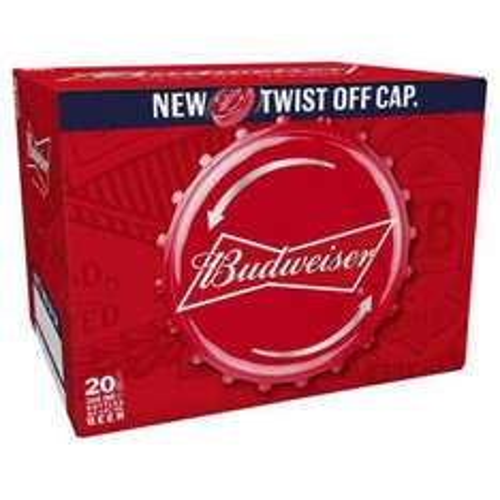 20x300ml Budweiser beer  £10 @ morrisons