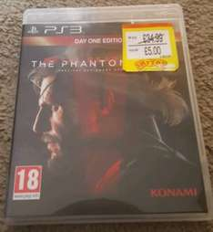 Metal Gear Solid: The Phantom Pain (Day One Edition) PS3 NEW £5 @ Smyths