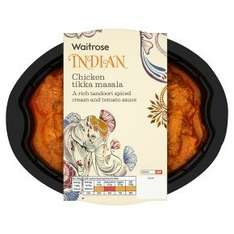 Waitrose Chicken Tikka Masala for Two, Was £3.90, Now £1.17 with My Waitrose Card