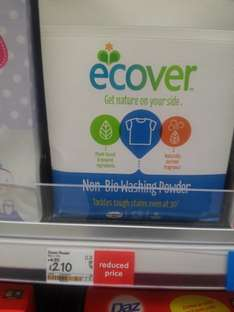 Ecover - 25 washes £2.10 @ Asda