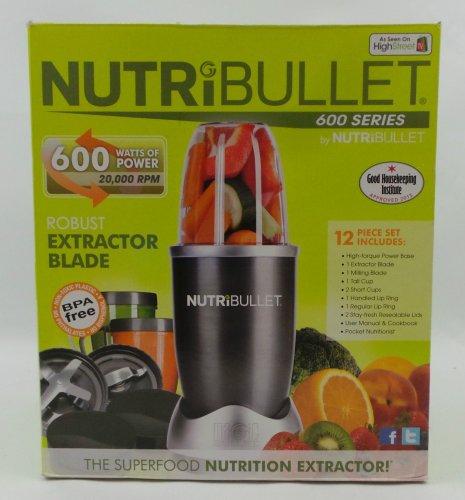 NutriBullet 600 series, 600w Complete Set Nutri Extractor Blender £54.99 @  ADN Communications / Ebay