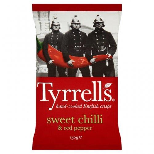 Tyrrells Sweet Chilli & Red Pepper Crisps 150g  £2.19 Buy any 1 add 1 free @ Ocado