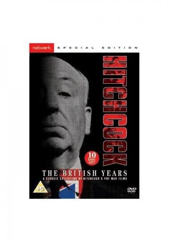 Hitchcock The British Years 10 discs DVD £10 Networkonair