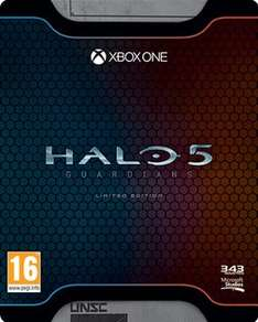 Halo 5 Limited edition with £10 xbox live credit  £29.99 @ game
