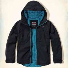 The Hollister All-Weather Jacket  free click and Collect £28.99 Extra 10% off Unidays @ hollister