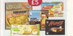 Frozen meal deal at the Co-op for £5.00