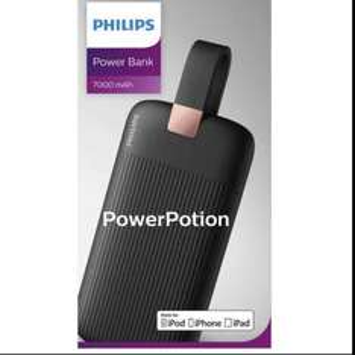 Philips black power bank 7000mah £14.99 @ Argos