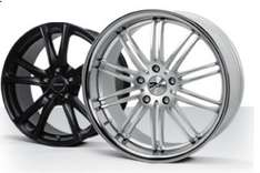Alloy wheel and Rim Refurbs for £20 per wheel in Silver or Black @ City powder coaters