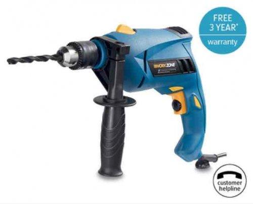 Aldi workzone hammer drill 810w 3yr warranty £19.99 @ Aldi