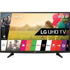"LG 49UH610V 49"" Smart 4K Ultra HD TV with HDR, Freeview HD & webOS - Black £494.10 delivered @ AO (After 10% off all LG TVs Code)"