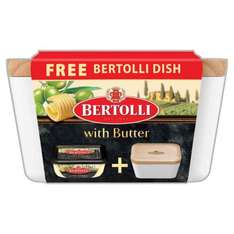 Free Bertolli Dish with Bertolli with Butter Spread 400g £2.50 @ Iceland