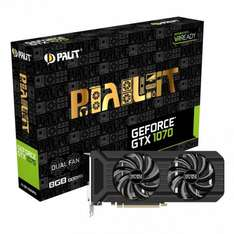 Palit  GeForce GTX 1070 Dual 8192MB GDDR5 PCI-Express Graphics Card £359.99 overclockers