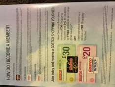 Costco Wembley Opening 23/8/16 - new member who join get shopping voucher