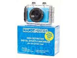 HD Sports camcorder Handy Heroes SDV 100 + Free Sandisk 8GB mem. card £25 (free del. to store)@gooutdoors.co.uk
