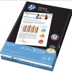 HP Office A4 80 gsm Multipurpose Paper for Laser, Inkjet, Copy and Fax White 500 sheets £2.12 @ Staples