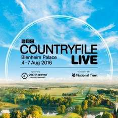 **Expired**Free Tickets to Countryfile Live @ Blenheim Palace 4th, 5th or 6th August with O2.