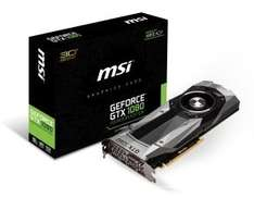 EXDISPLAY  MSI GeForce GTX 1080 Founders Edition (refurb) £582.94 Ebuyer
